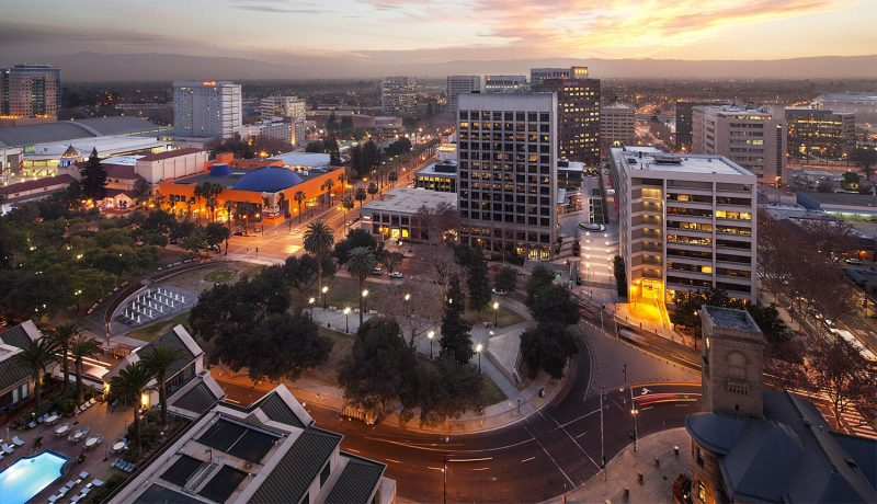 picture of downtown San Jose Ca