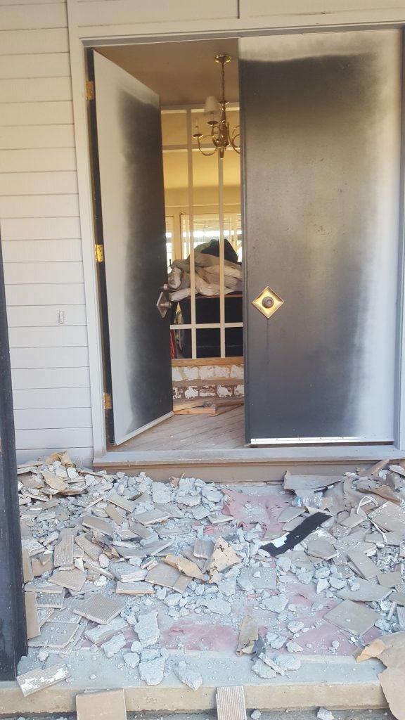 Junk Removal Marin County, a construction debris removal job