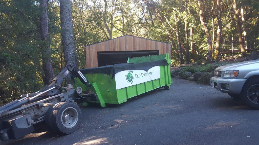 dumpster rental woodside, ca
