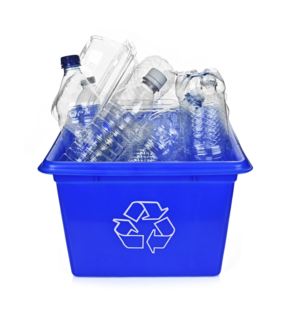 Recycling plastic bottles is a good start