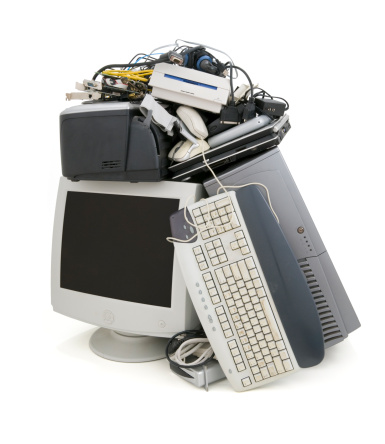 declutter your life of old electronics