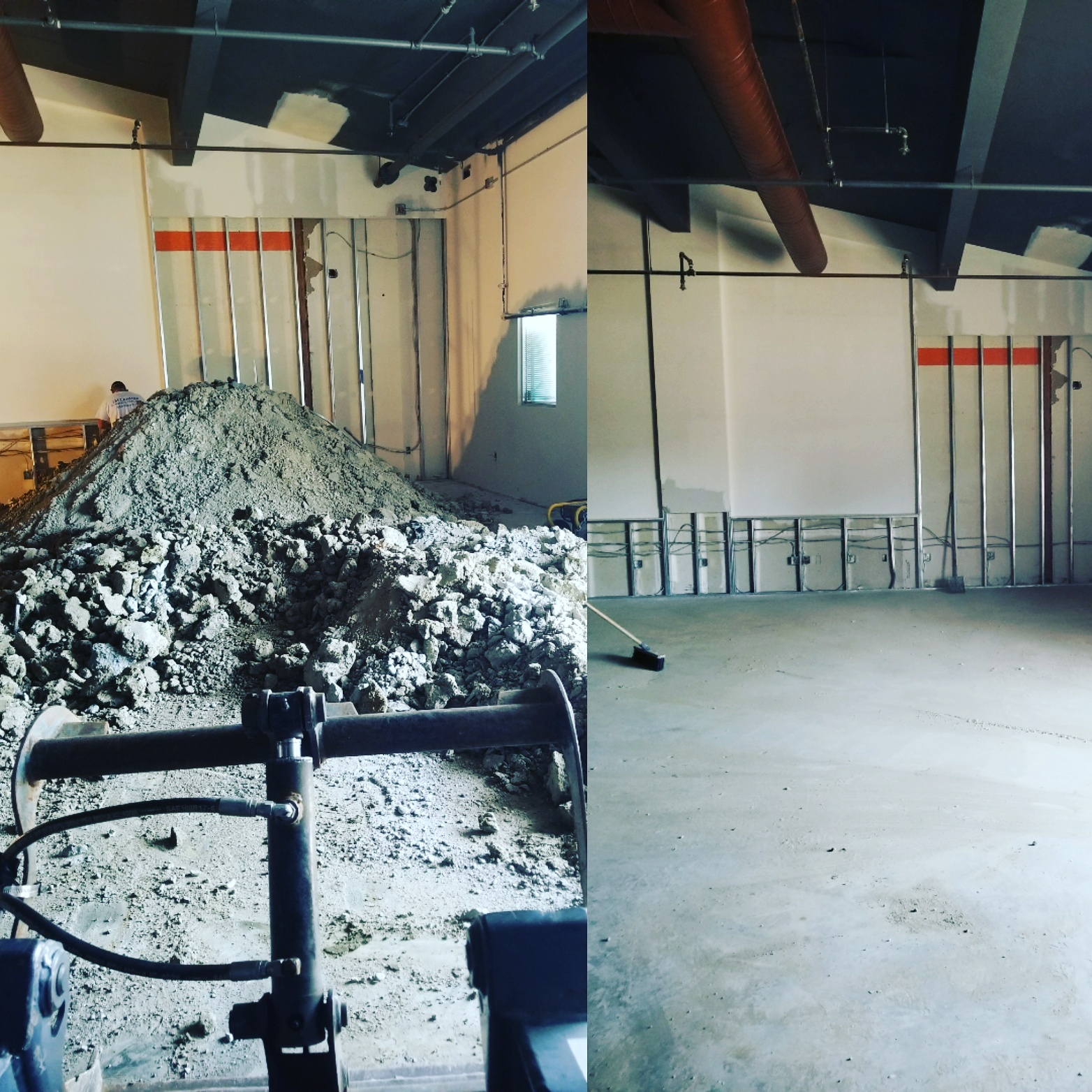 Concrete Removal And Hauling